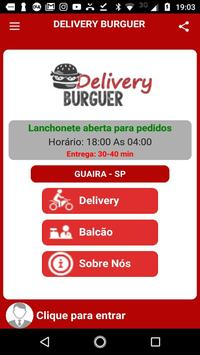 Delivery Burguer poster