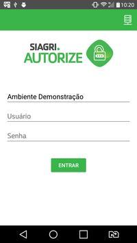 SIAGRI Autorize apk screenshot
