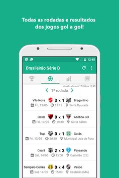 Brasileirão 2017 Série B screenshot 1