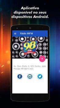 Rádio Correio 98 FM JP poster