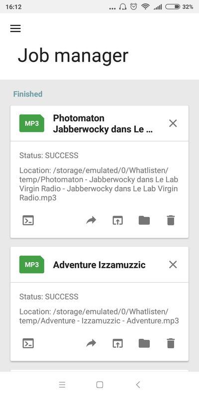 Viny Media Converter Screenshot 2