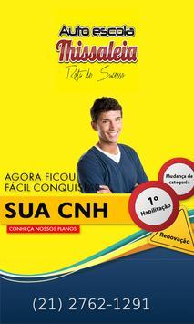 Autoescola Thissaleia poster
