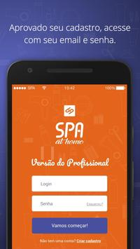 SPA at home Profissional poster