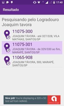 Busca CEP e Logradouro apk screenshot