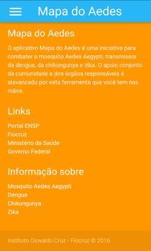 Mapa do Aedes apk screenshot