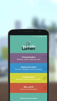 Escola Lumen poster