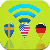 My country ip location fake icon
