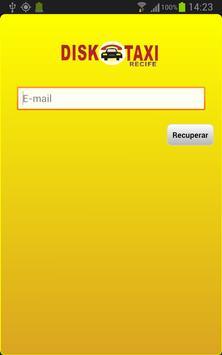 Disk Taxi Recife apk screenshot