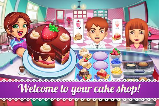 My Cake Shop - Baking and Candy Store Game poster