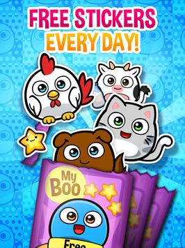 My Boo Album - Virtual Pet Sticker Book apk screenshot