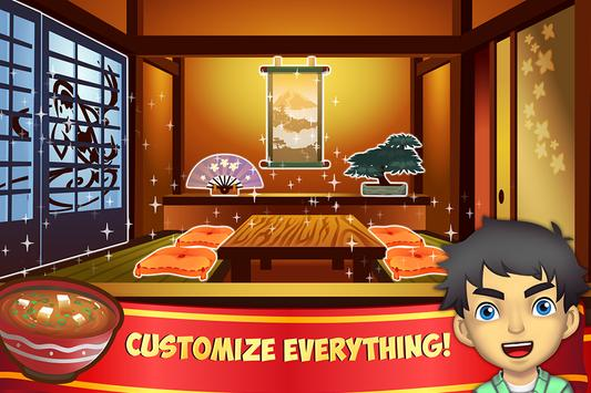 My Sushi Shop - Japanese Food Restaurant Game screenshot 1