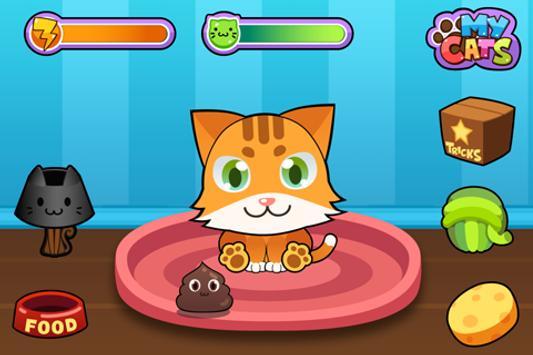 My Virtual Cat - Cute Virtual Pet Kittens apk screenshot