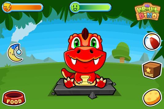 My Virtual Dino - Cute Pet Dinosaur Game poster
