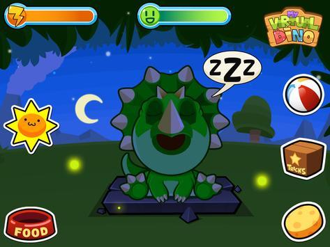 My Virtual Dino - Cute Pet Dinosaur Game apk screenshot