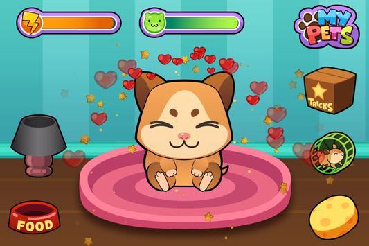 My Virtual Hamster - Cute Pet Rat Game poster