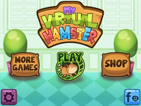 My Virtual Hamster - Cute Pet Rat Game apk screenshot
