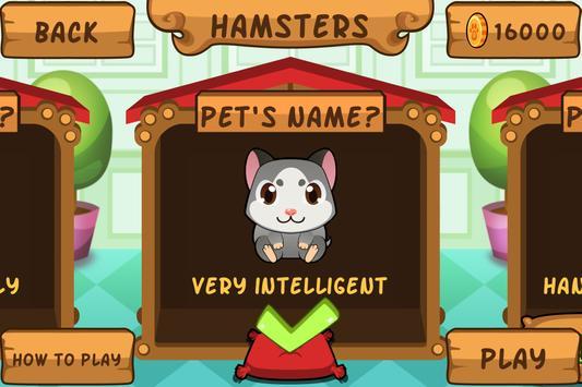 My Virtual Hamster - Cute Pet Rat Game apk screenshot