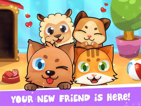 My Virtual Pet - Take Care of Cute Cats and Dogs apk screenshot
