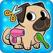 My Virtual Pet Shop - Cute Animal Care Game أيقونة