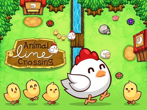 Animal Line Crossing - Guide The Animals Home apk screenshot