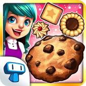 My Cookie Shop - Sweet Treats Shop Game ikon