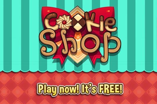 My Cookie Shop - Sweet Treats Shop Game syot layar 3