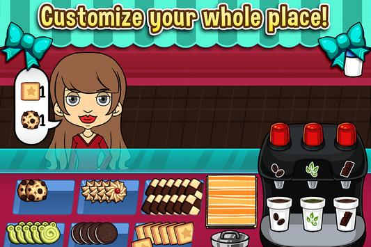 My Cookie Shop - Sweet Treats Shop Game syot layar 2