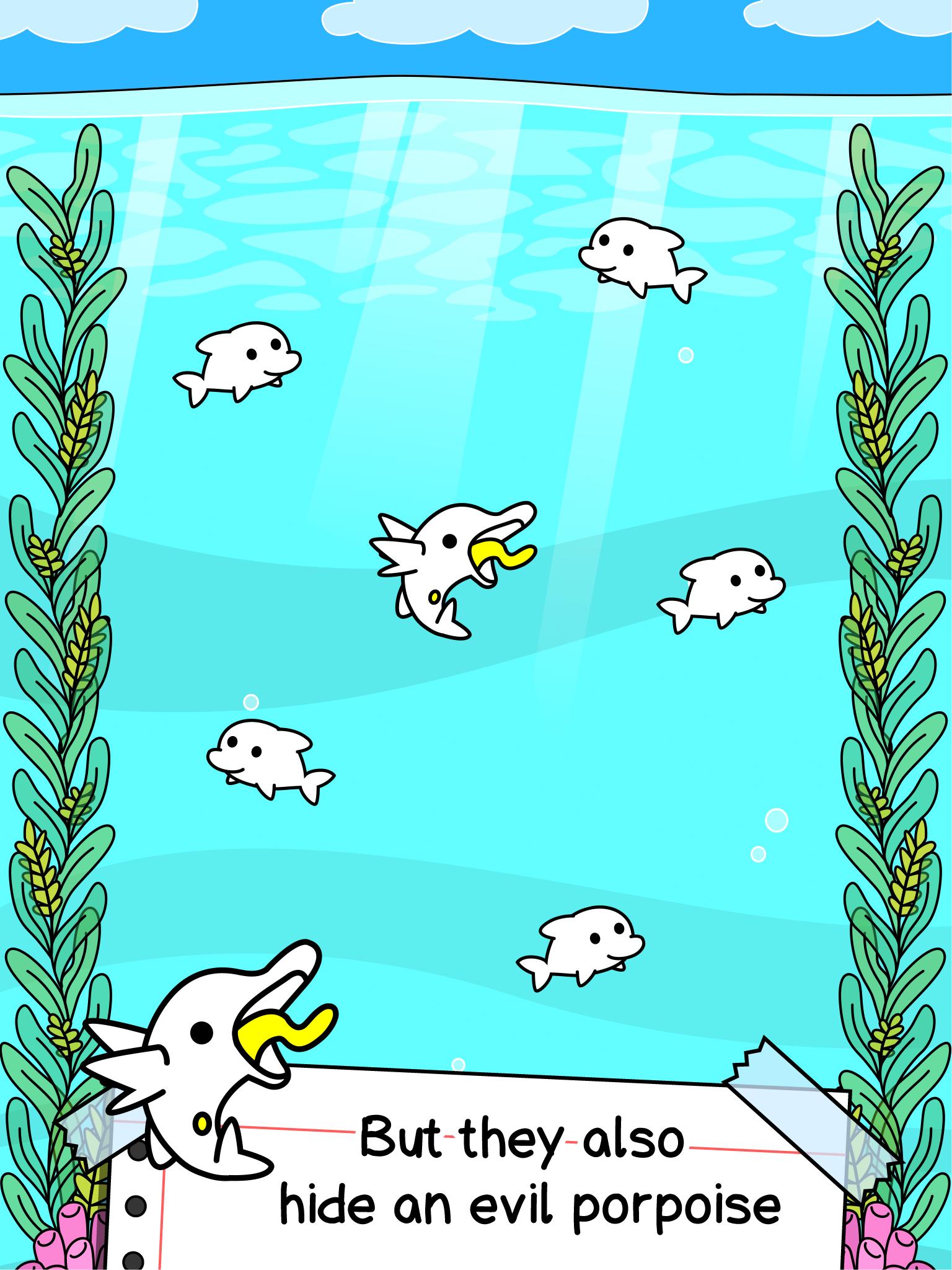 Dolphin Evolution - Mutant Porpoise Game APK 1.0.2 ...