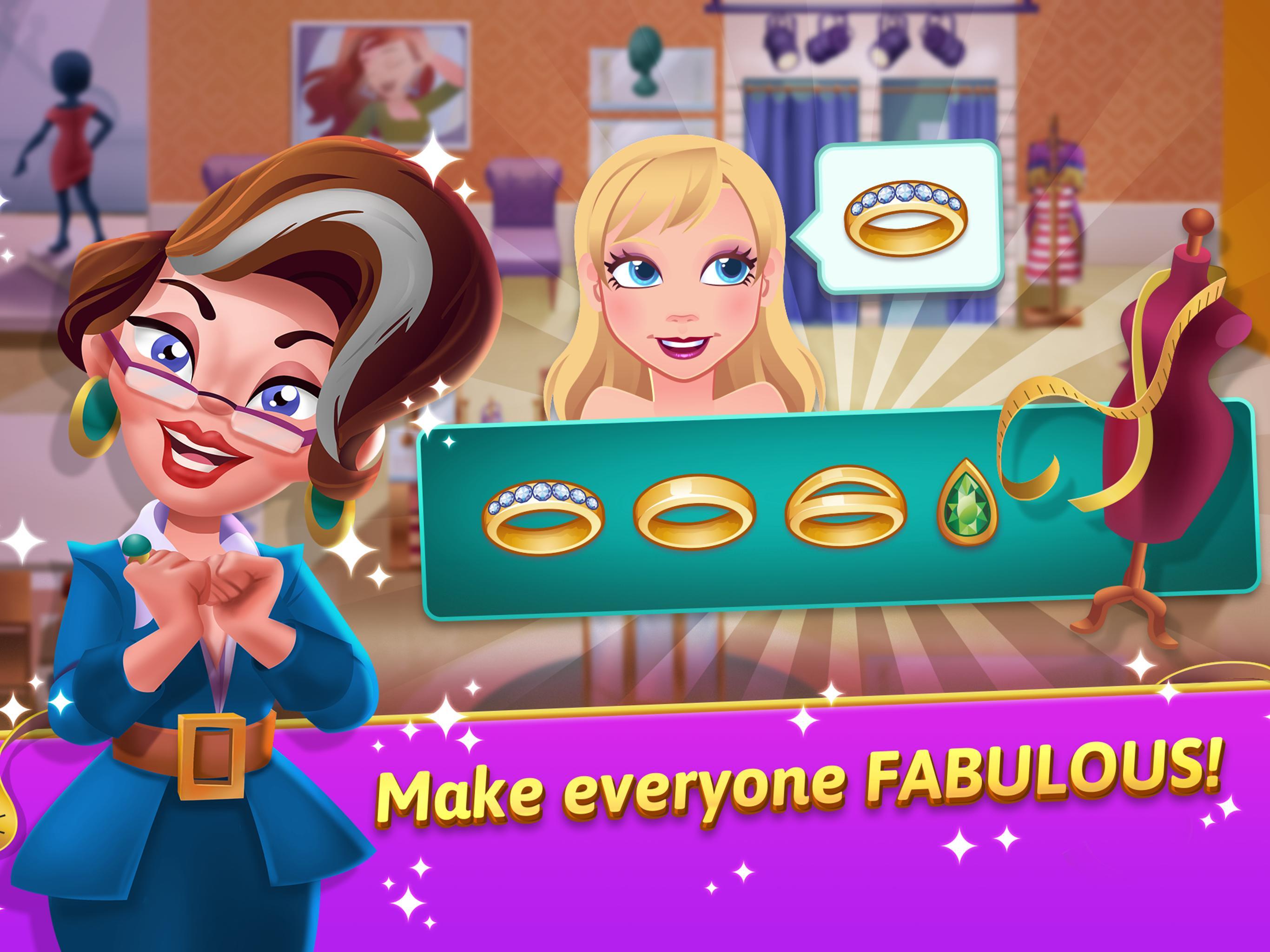 Fashion Salon Dash Fashion Shop Simulator Game For Android Apk