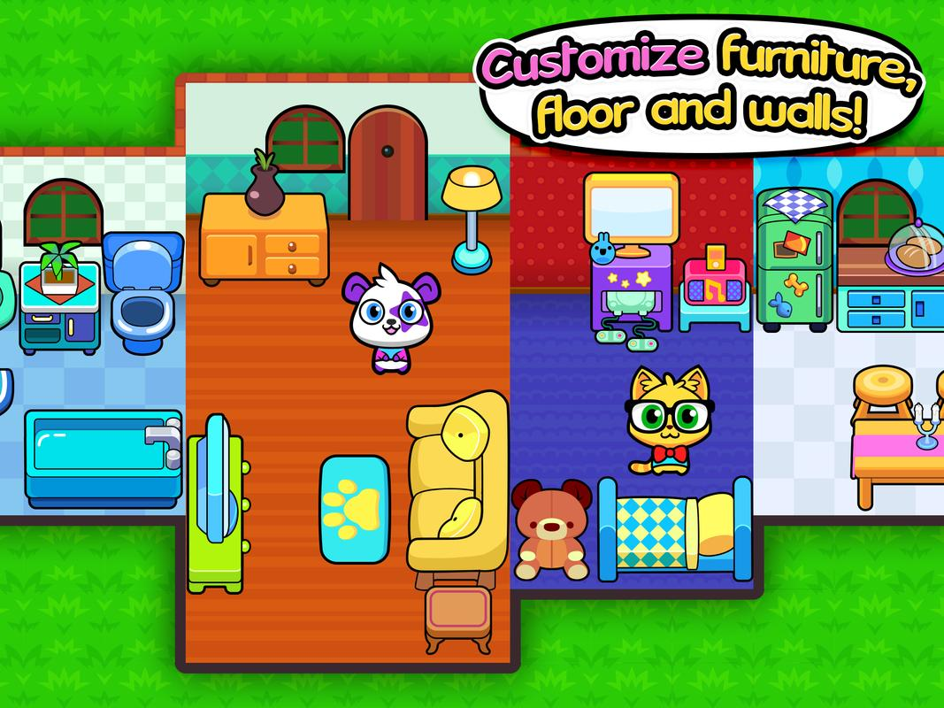 Forest Folks Cute Pet Home Design Game Apk Forest Folks Cute Pet Home Design Game Apk