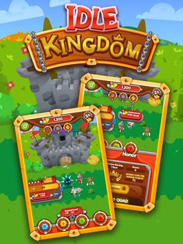 Idle Kingdom - Epic Empire Building Clicker Game apk screenshot