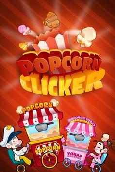 Popcorn Clicker - Popcorn Cart Clicker Game! poster
