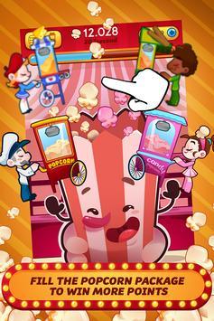 Popcorn Clicker - Popcorn Cart Clicker Game! screenshot 1