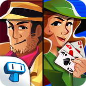 Solitaire Detectives - Crime Solving Card Game icon