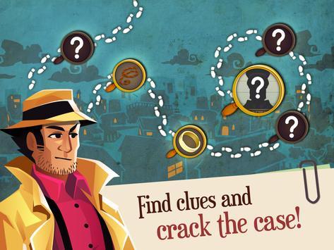 Solitaire Detectives - Crime Solving Card Game apk screenshot