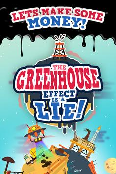 The Greenhouse Effect is a Lie - Conspiracy Game poster