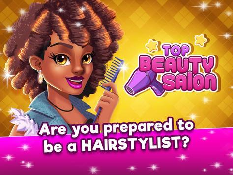 Top Beauty Salon -  Hair and Makeup Parlor Game apk screenshot