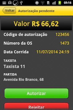 Triagem Taxi screenshot 4