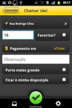 Taxi Rota - Cliente apk screenshot