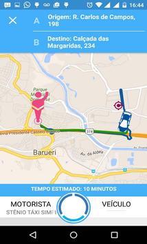 Táxi Popular Flash Car apk screenshot