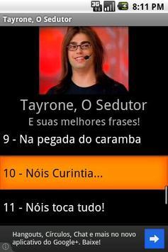 Tayrone Sedutor poster