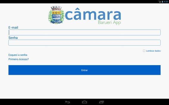 Câmara Barueri App apk screenshot