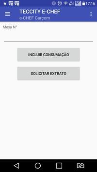 e-CHEF Garçom poster