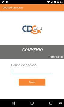 CDCcard Consultas poster