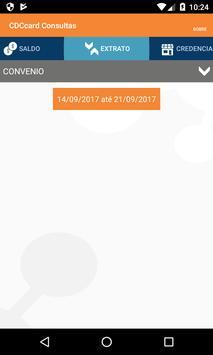 CDCcard Consultas apk screenshot