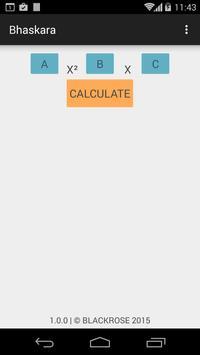 Bhaskara Calculator V3 poster