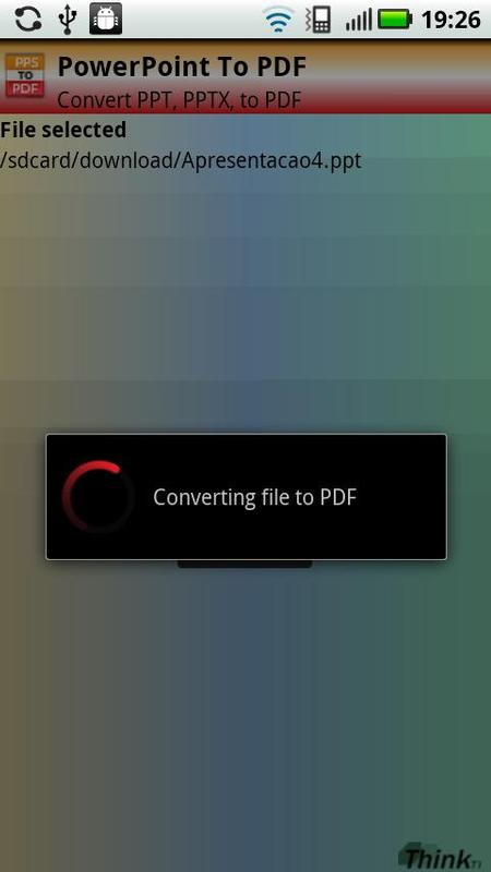 PowerPoint to PDF (PPT, PPTX) for Android - APK Download