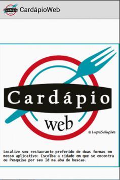 CardápioWeb poster