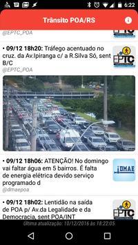 Trânsito POA/RS poster