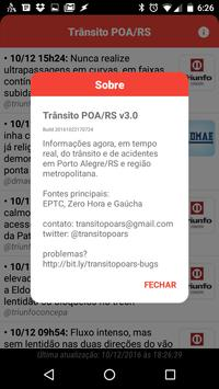 Trânsito POA/RS apk screenshot